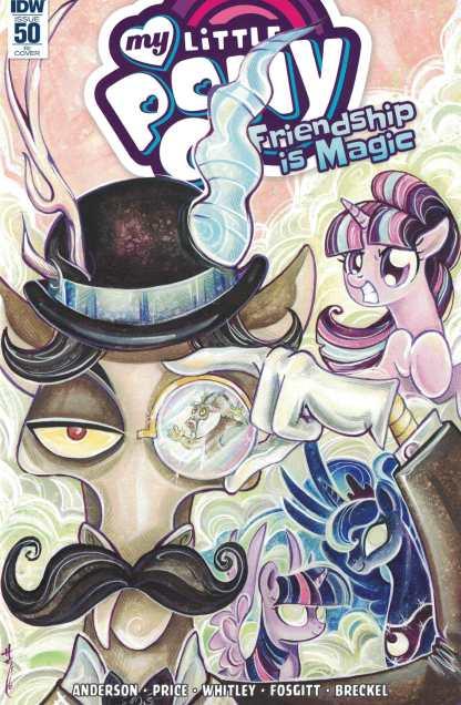 My Little Pony Friendship is Magic #50 1:10 Sarah Richard Incentive Variant RI IDW