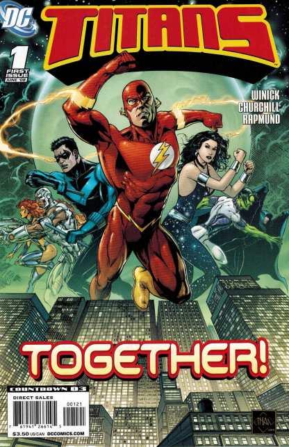 Titans #1 Ethan Van Sciver Variant 2008 Teen Titans