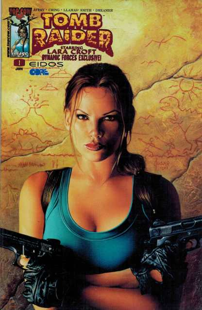 Laura Croft Tomb Raider #0 Dynamic Forces Exclusive Foil Variant Image Sealed
