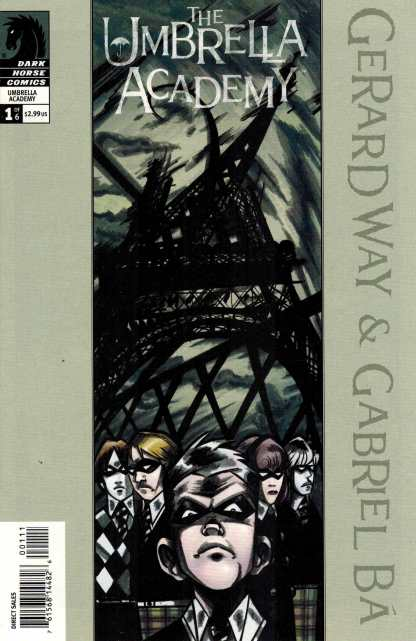 Umbrella Academy Apocalypse Suite #1 Variant Cover Gerard Way Dark Horse