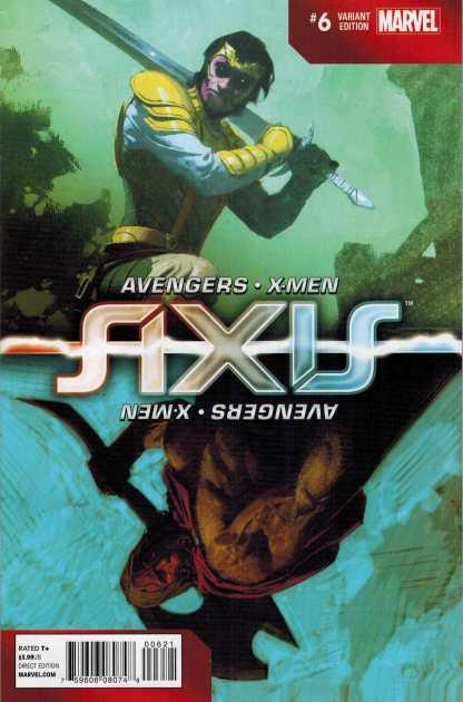 Axis #6 1:100 Ribic Inversion Variant Loki