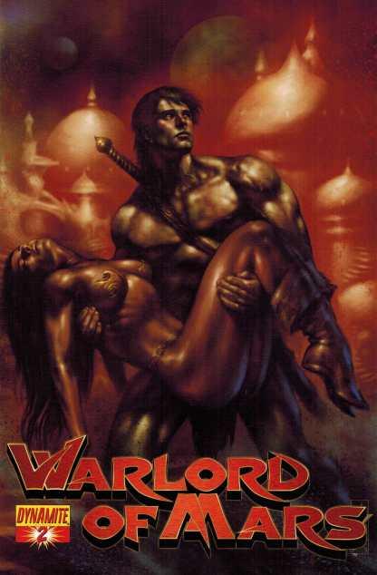 Warlord of Mars #2 1:15 Parilla Variant Dynamite 2010 John Carter HTF Rare
