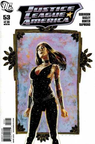 Justice League of America #53 1:10 David Mack Variant DC Donna Troy