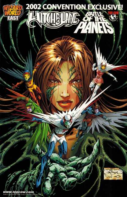 Witchblade Battle of the Planets #1 Wizard World East 2002 Exclusive Variant