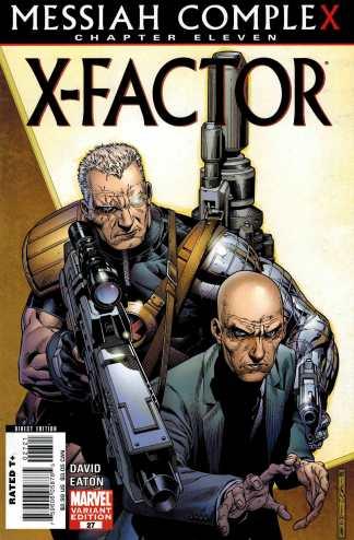 X-Factor #27 1:10 Jim Cheung Variant Messiah Complex X-Men Cable