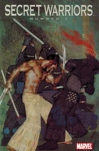 Secret Warriors #3 1:10 Parel Wolverine Art Appreciation Variant Marvel 2010