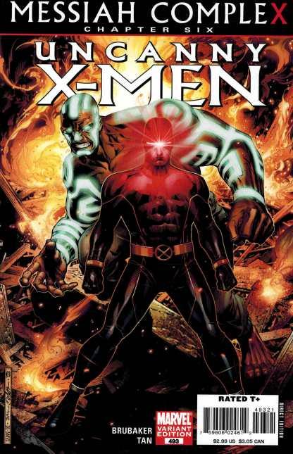 Uncanny X-Men #493 Jim Cheung Variant Marvel Messiah Complex