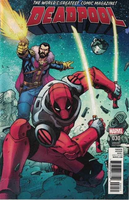 Deadpool #30 1:25 Ron Lim Variant Marvel 2015
