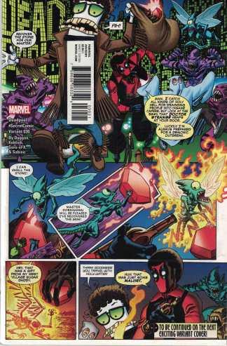 Deadpool #30 Unlocked Scott Koblish Secret Variant Marvel