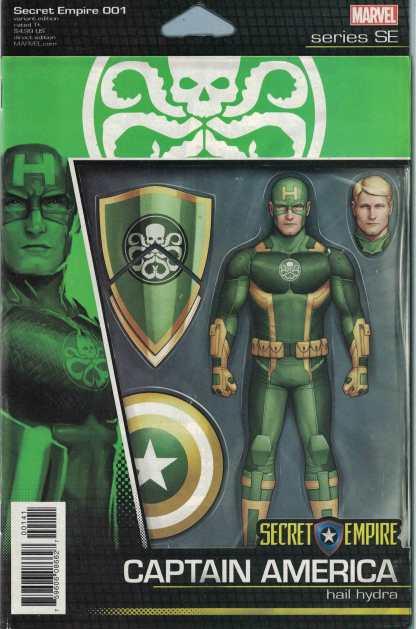 Secret Empire #1 Unlocked John Tyler Christopher Action Figure Variant Marvel