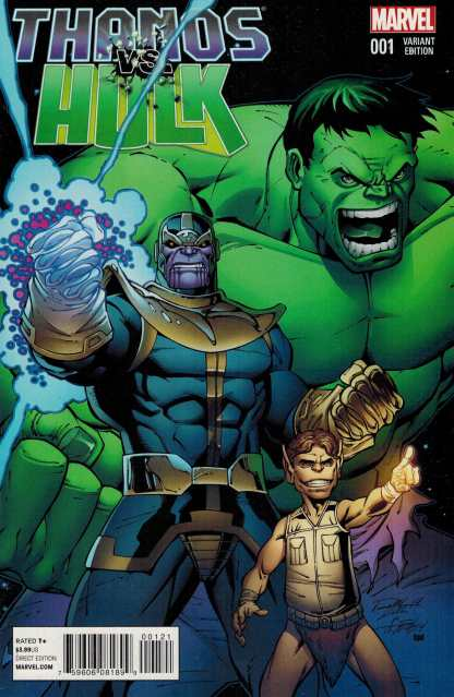 Thanos vs Hulk #1 1:15 Ron Lim Variant