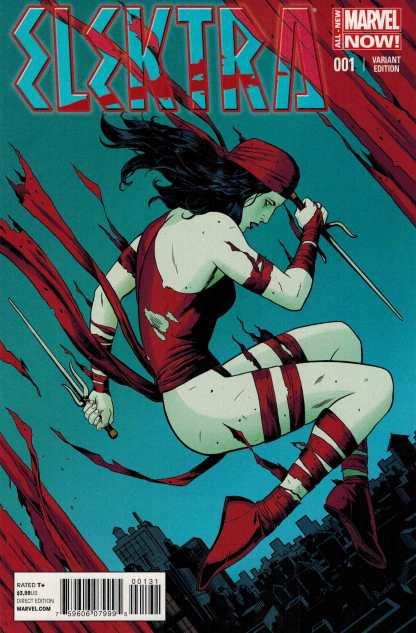 Elektra #1 1:50 Paolo Rivera Variant ANMN All New Marvel Now 2014
