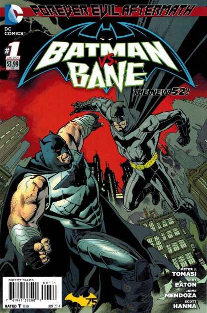 Forever Evil Aftermath Batman vs Bane #1 1:25 Nowlan Variant
