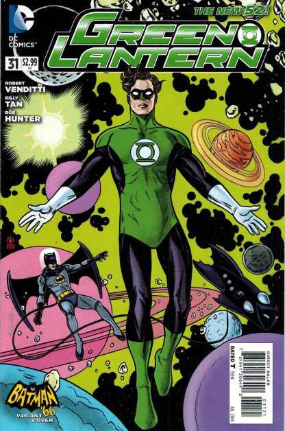 Green Lantern #31 1:25 Batman '66 Mike Allred Variant New 52