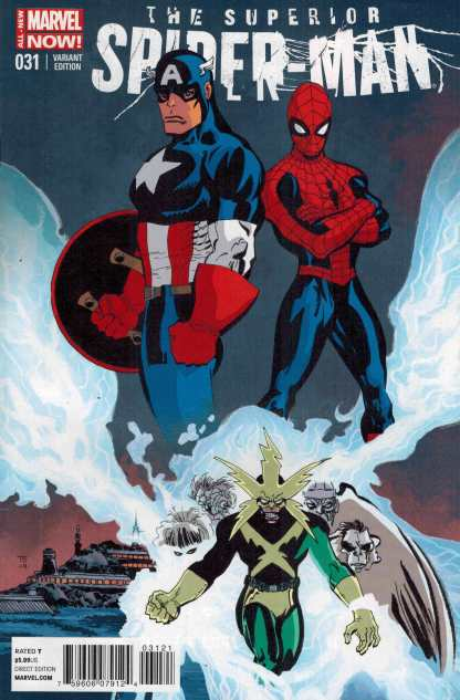 Superior Spider-Man #31 1:20 Tim Sale Variant Marvel Now