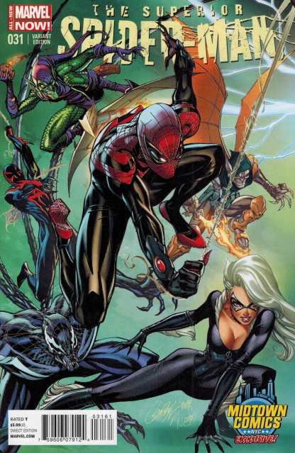 Superior Spider-Man #31 Midtown Comics Exclusive Campbell Color Variant