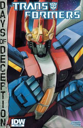 Transformers #35 1:10 Retailer Incentive Variant RI Ongoing IDW