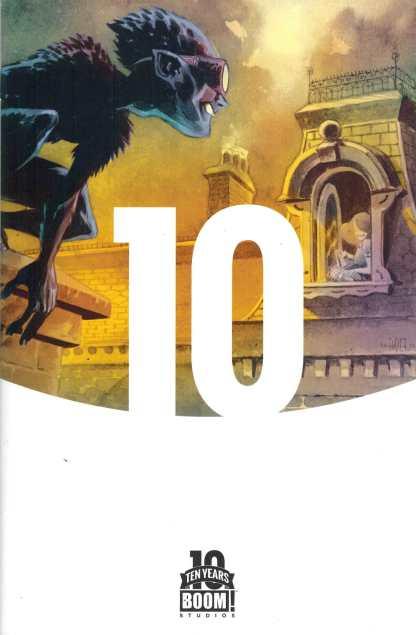 Feathers #1 1:10 Ramon Perez Ten Years of Boom! Variant Comic