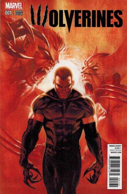 Wolverines #1 1:25 Gabriel Dell'Otto Variant 2015 Sabretooth