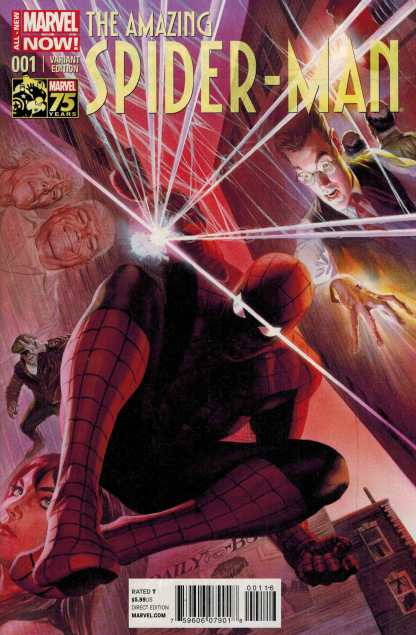 Amazing Spider-Man #1 1:75 Alex Ross Color Variant ANMN 2014