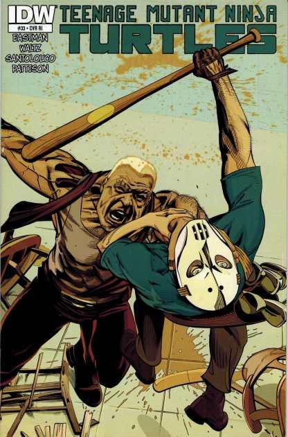 Teenage Mutant Ninja Turtles #33 1:10 Retailer Incentive Variant RI