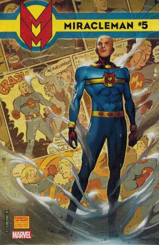 Miracleman #5 1:25 Cheung Variant Marvel 2014