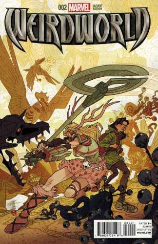Weirdworld #2 1:25 Chan Variant Marvel ANAD 2015