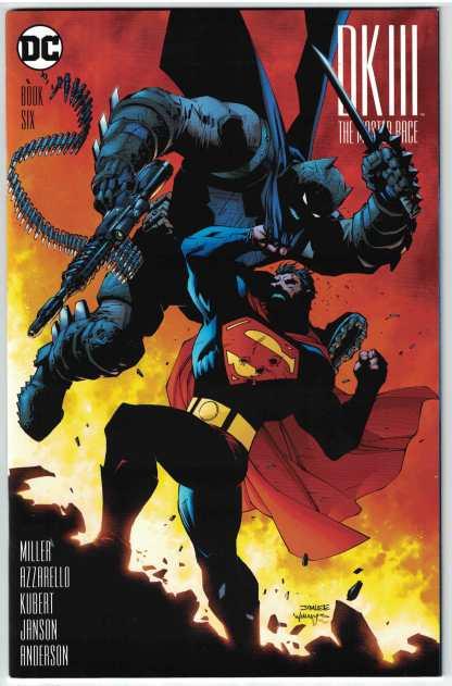 Dark Knight III Master Race #6 1:500 Jim Lee Variant DK3 Batman DC
