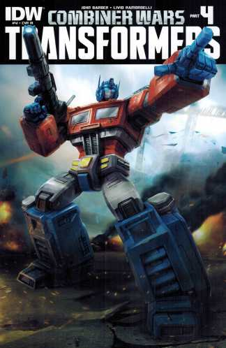 Transformers #41 1:10 Retailer Incentive Variant RI IDW Ongoing Combiner Wars