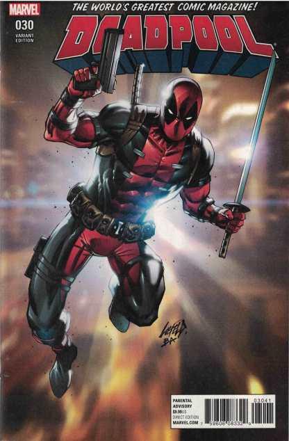 Deadpool #30 1:100 Rob Liefeld Variant Marvel
