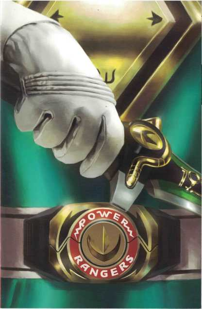 Mighty Morphin Power Rangers #13 1:50 Miguel Mercado Foil Power Coin Variant