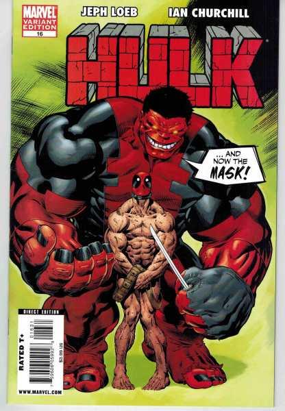 Hulk #16 Ed McGuinness Deadpool Variant VF+/NM-