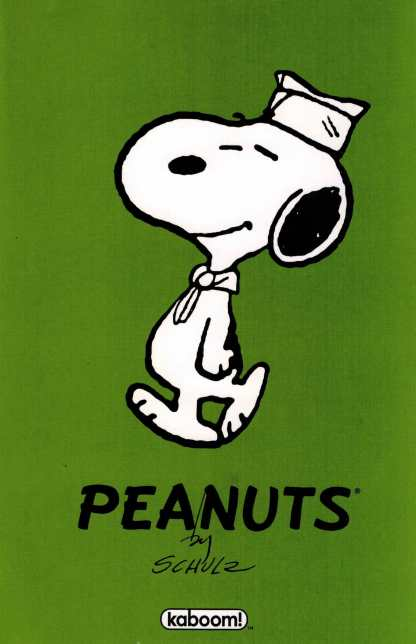 Peanuts #9 1:20 Charles Schultz Beagle Scout First Appearance Variant Boom Comic