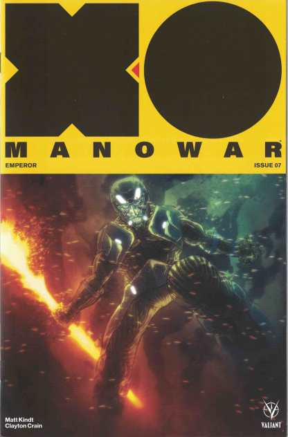 X-O Manowar #7 1:50 Ben Templesmith Valiant Variant New Arc Cvr D 2017