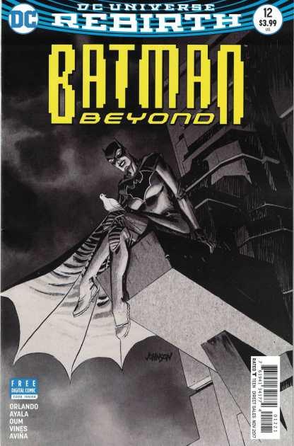 Batman Beyond #12 Dave Johnson Variant DC Rebirth 2016