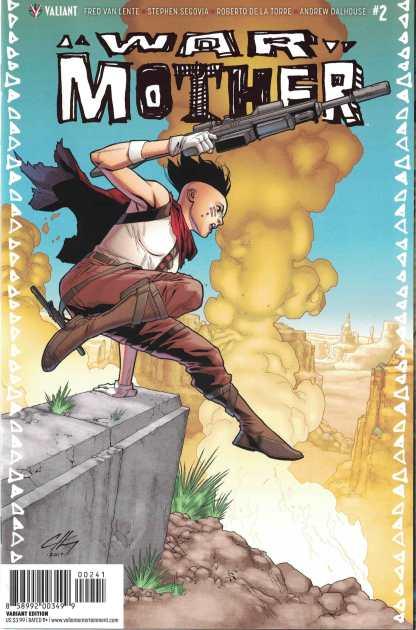 War Mother #2 1:20 Clayton Henry Valiant Variant Cover D 2017