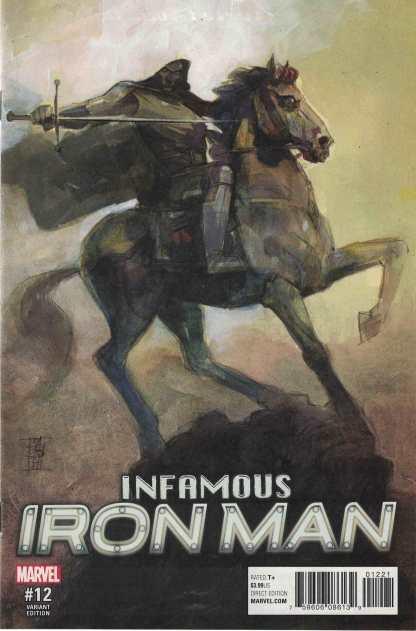 Infamous Iron Man #12 Alex Maleev Variant Marvel 2016 Doctor Doom