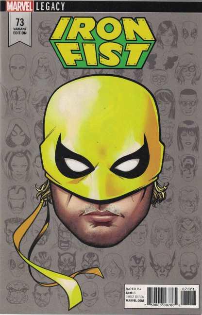 Iron Fist #73 1:10 Mike McKone Legacy Headshot Variant Marvel 2017