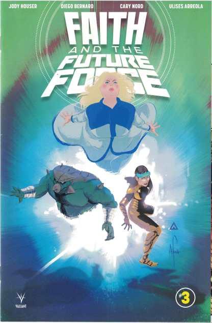 Faith and the Future Force #3 1:20 Afua Richardson Valiant Variant Cvr D 2017
