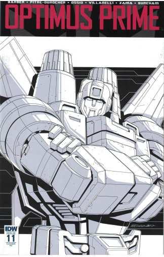 Optimus Prime #11 1:10 Andrew MacLean Variant IDW 2016