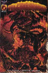 Volcanosaurus #1 1:3 Rich Bonk Fiery RI Variant American Mythology 2017