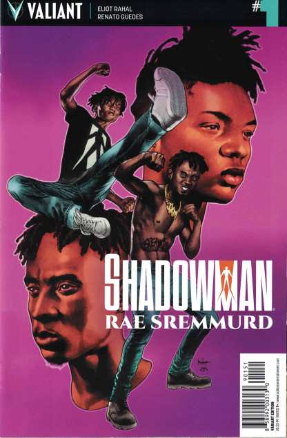 Shadowman/ Rae Sremmurd #1 1:20 Mico Suayan Valiant Variant 2017