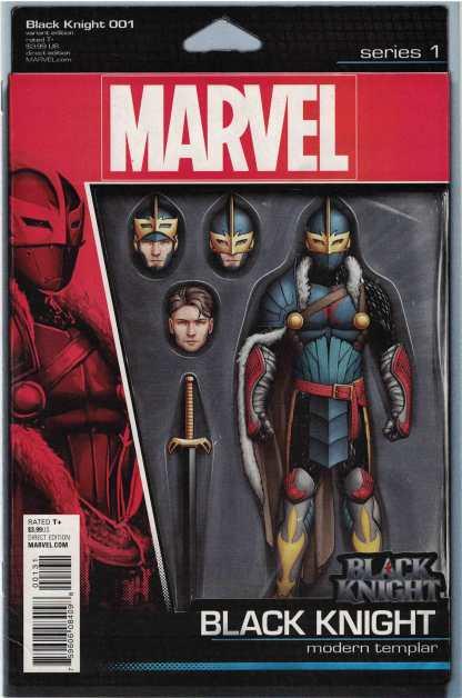 Black Knight #1 Unlocked John Tyler Christopher Action Figure Variant Marvel