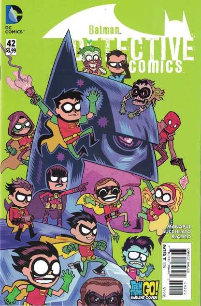 Detective Comics #42 Teen Titans Go Variant DC New 52 2011