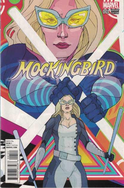 Mockingbird Shield 50th Anniversary #1 Christian Ward Variant Marvel 2015