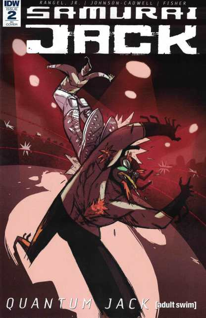 Samurai Jack Quantum Jack #2 1:10 Edgar Camacho Variant IDW 2017