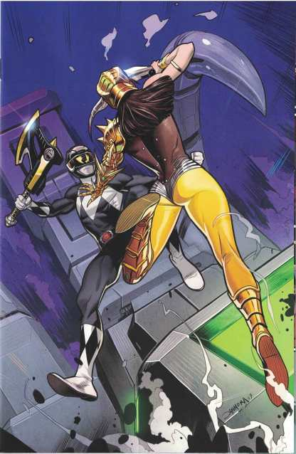 Mighty Morphin Power Rangers #20 1:30 Dan Mora Virgin Variant Boom