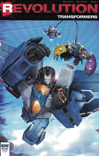 Transformers Revolution #1 1:10 Ken Christiansen Variant IDW 2016 RI