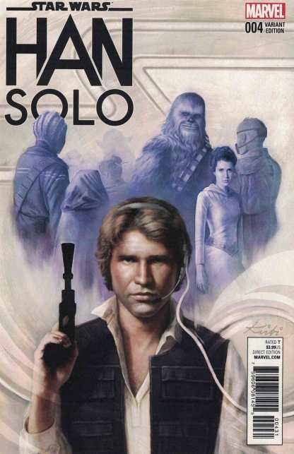 Star Wars Han Solo #4 1:25 Kirbi Fagan Variant Marvel 2016