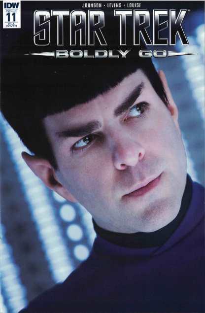 Star Trek #11 1:10 Photo Variant IDW 2016